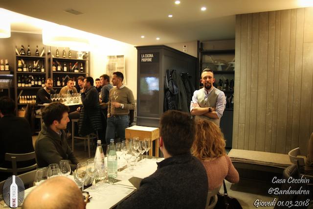 foto Evento Wine Embassy – Casa Cecchin @ Bar da Andrea – Marzo 2018 414