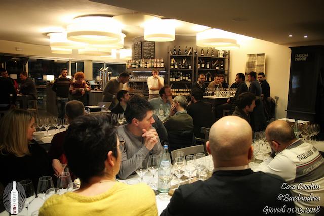 foto Evento Wine Embassy – Casa Cecchin @ Bar da Andrea – Marzo 2018 418