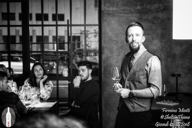 Foto Evento Wine Embassy – Firmino Miotti – Shelter 18
