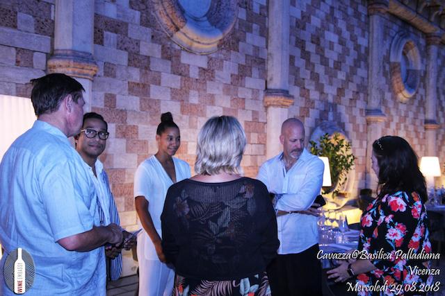 foto Evento Wine Embassy – Cavazza@Basilica Palladiana 29 Ago 14