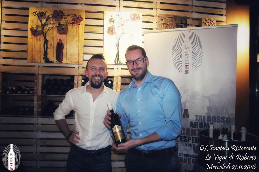 foto Evento Wine Embassy – Qle Vigne di Roberto Novembre 2018 15