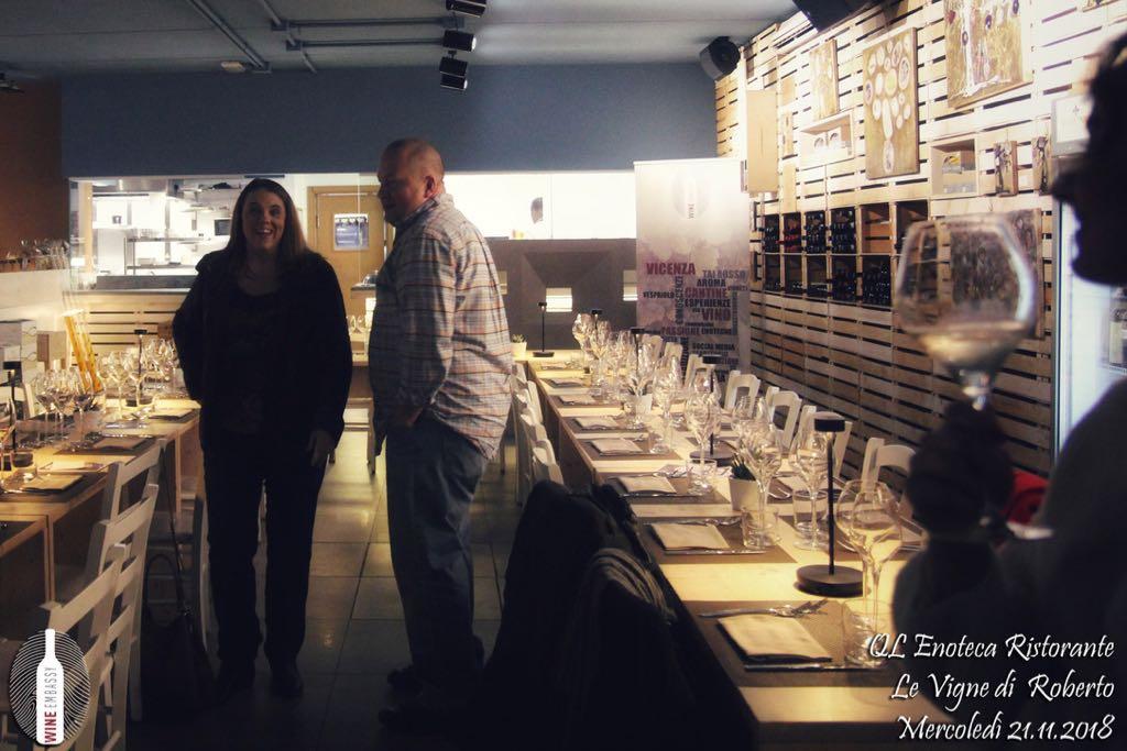 foto Evento Wine Embassy – Qle Vigne di Roberto Novembre 2018 27