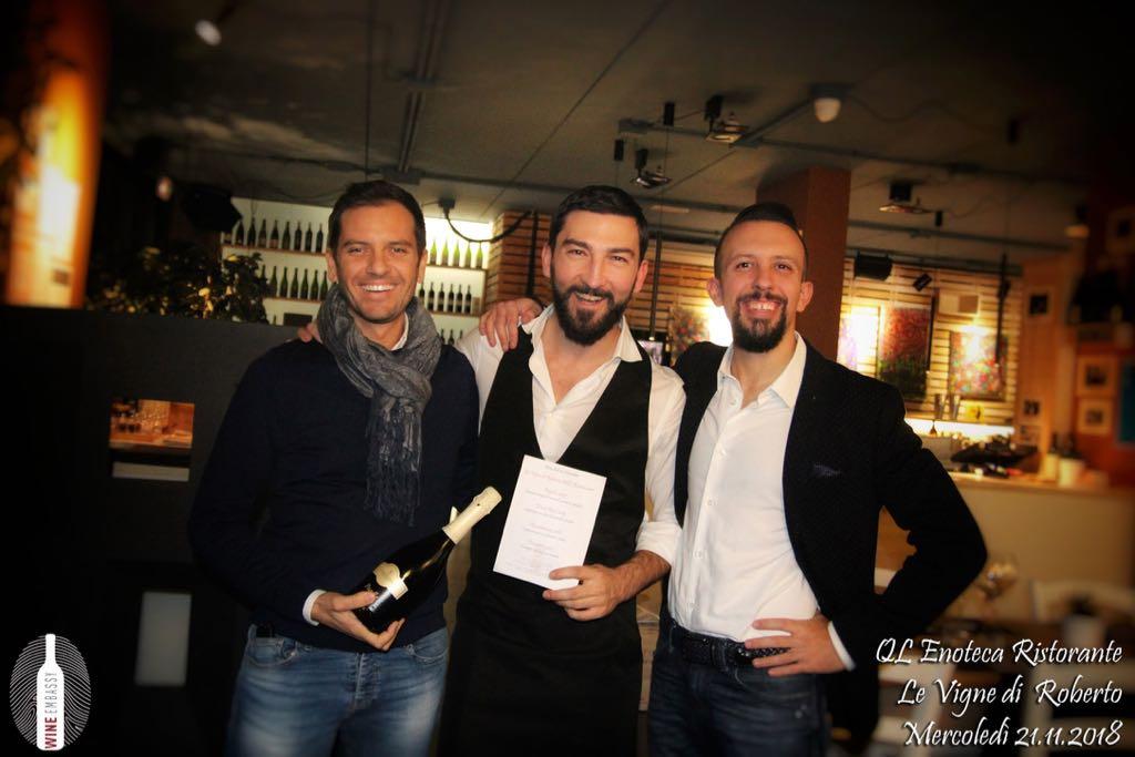 foto Evento Wine Embassy – Qle Vigne di Roberto Novembre 2018 4