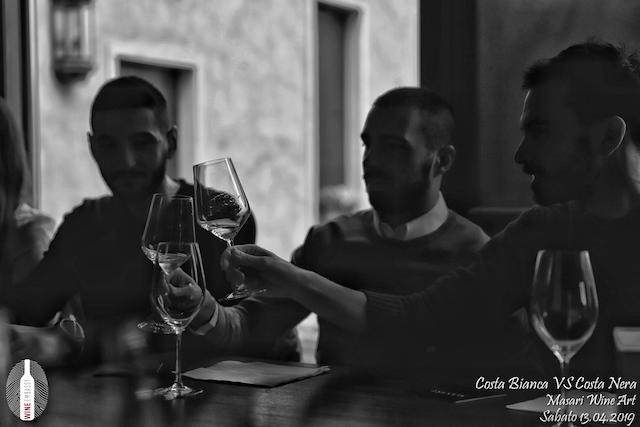 foto Evento Wine Embassy – Costa Bianca Vs costa Nera @ Masari – 13 aprile 2019 – 23