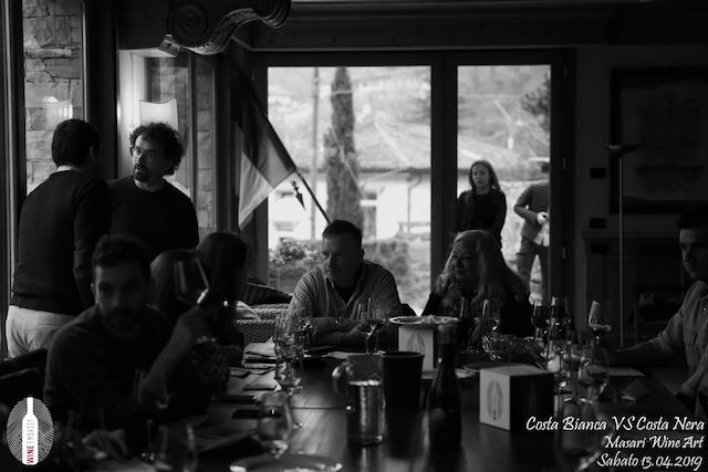 foto Evento Wine Embassy – Costa Bianca Vs costa Nera @ Masari – 13 aprile 2019 – 37