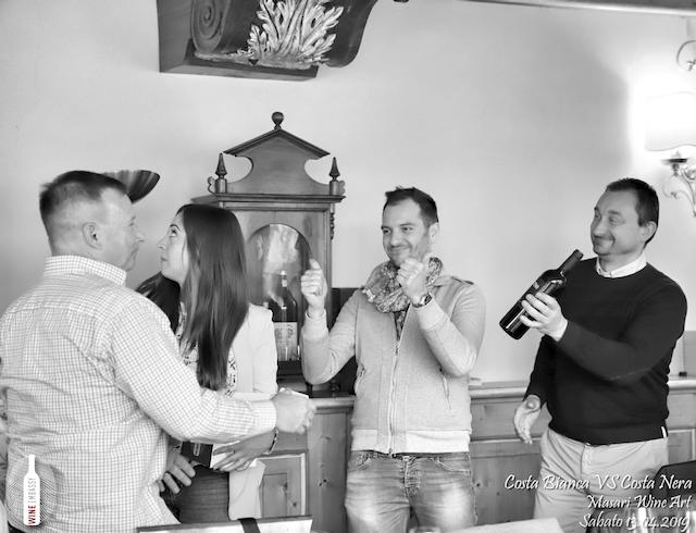 foto Evento Wine Embassy – Costa Bianca Vs costa Nera @ Masari – 13 aprile 2019 – 42