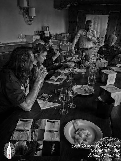 foto Evento Wine Embassy – Costa Bianca Vs costa Nera @ Masari – 27 aprile 201910