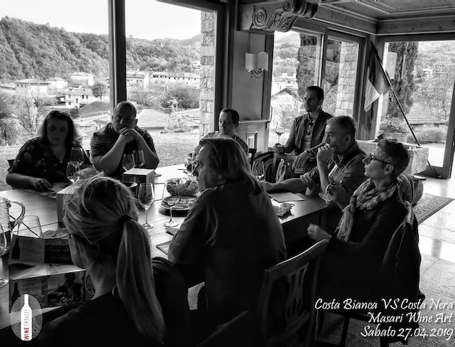 foto Evento Wine Embassy – Costa Bianca Vs costa Nera @ Masari – 27 aprile 201911
