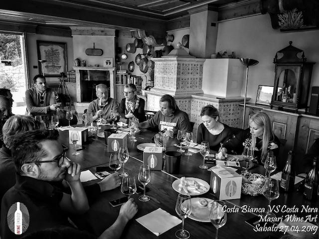 foto Evento Wine Embassy – Costa Bianca Vs costa Nera @ Masari – 27 aprile 201912