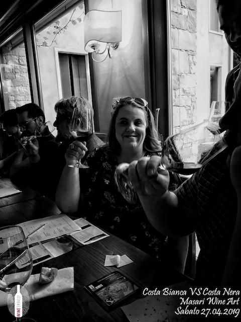 foto Evento Wine Embassy – Costa Bianca Vs costa Nera @ Masari – 27 aprile 201913
