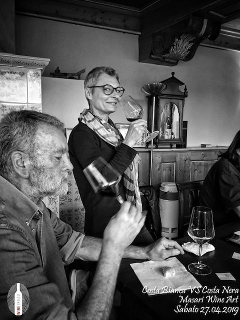 foto Evento Wine Embassy – Costa Bianca Vs costa Nera @ Masari – 27 aprile 201914