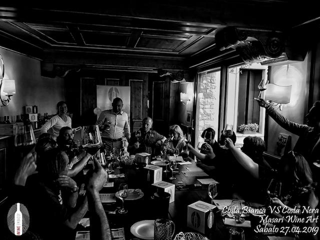 foto Evento Wine Embassy – Costa Bianca Vs costa Nera @ Masari – 27 aprile 201915