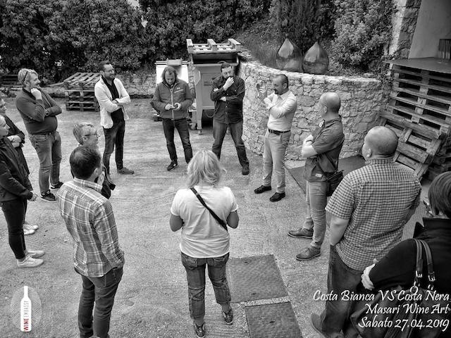 foto Evento Wine Embassy – Costa Bianca Vs costa Nera @ Masari – 27 aprile 201920
