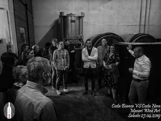 foto Evento Wine Embassy – Costa Bianca Vs costa Nera @ Masari – 27 aprile 201921