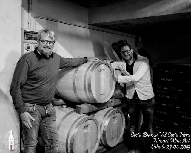 foto Evento Wine Embassy – Costa Bianca Vs costa Nera @ Masari – 27 aprile 20193