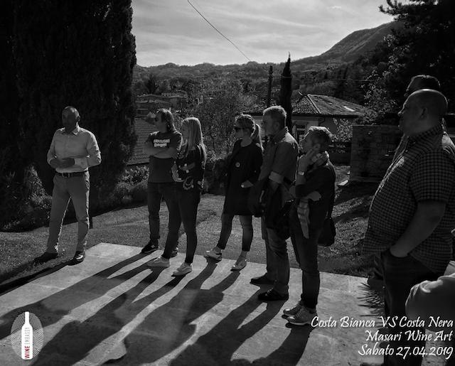 foto Evento Wine Embassy – Costa Bianca Vs costa Nera @ Masari – 27 aprile 20195