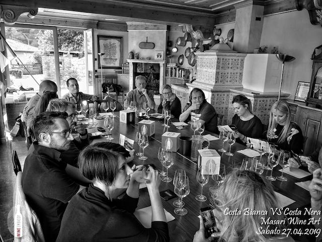 foto Evento Wine Embassy – Costa Bianca Vs costa Nera @ Masari – 27 aprile 20197
