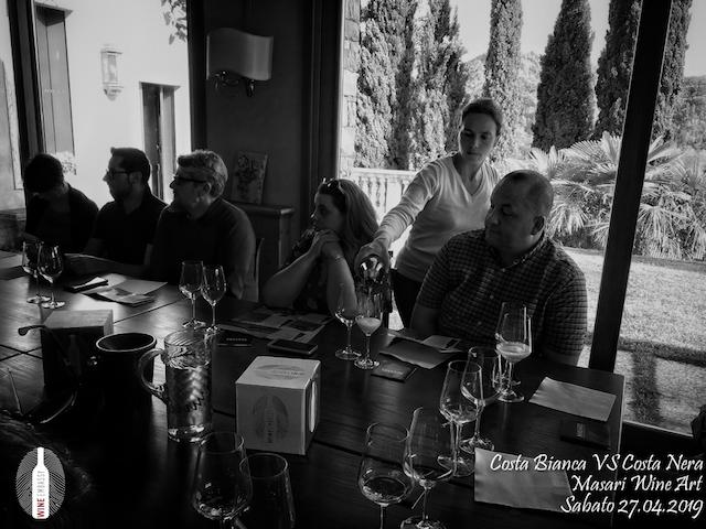 foto Evento Wine Embassy – Costa Bianca Vs costa Nera @ Masari – 27 aprile 20198