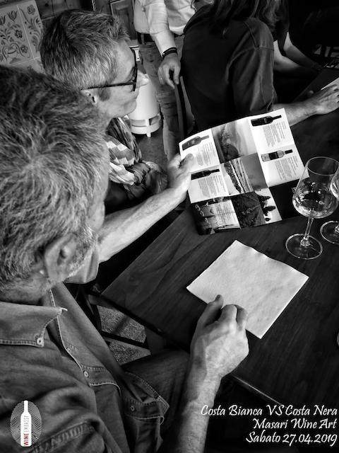 foto Evento Wine Embassy – Costa Bianca Vs costa Nera @ Masari – 27 aprile 20199