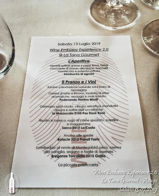 foto Evento Wine Embassy – WE Experience 2 @ La Tana Gourmet 13.07.2019 – 3
