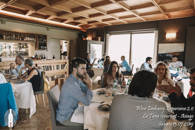 foto Evento Wine Embassy – WE Experience 2 @ La Tana Gourmet 13.07.2019 – 33