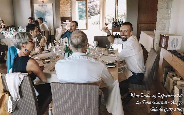 foto Evento Wine Embassy – WE Experience 2 @ La Tana Gourmet 13.07.2019 – 35
