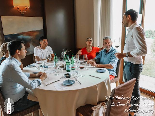 foto Evento Wine Embassy – WE Experience 2 @ La Tana Gourmet 13.07.2019 – 41