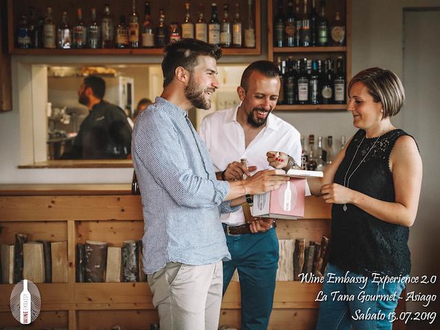 foto Evento Wine Embassy – WE Experience 2 @ La Tana Gourmet 13.07.2019 – 46