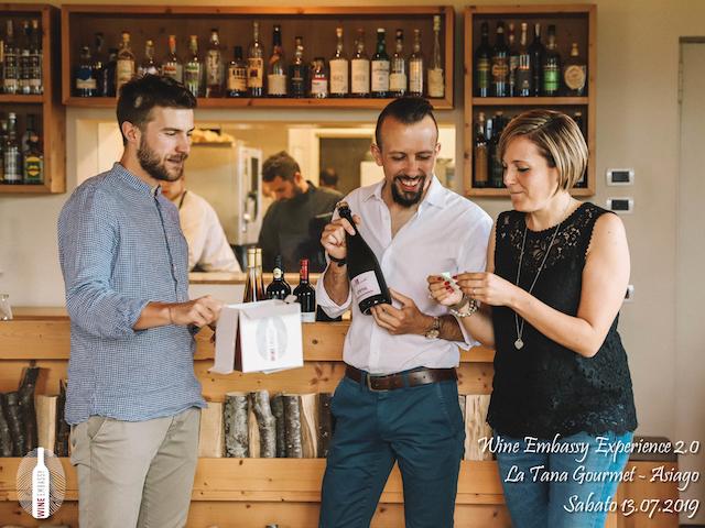 foto Evento Wine Embassy – WE Experience 2 @ La Tana Gourmet 13.07.2019 – 49