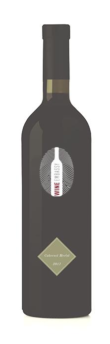 bottiglia rosso wine embassy