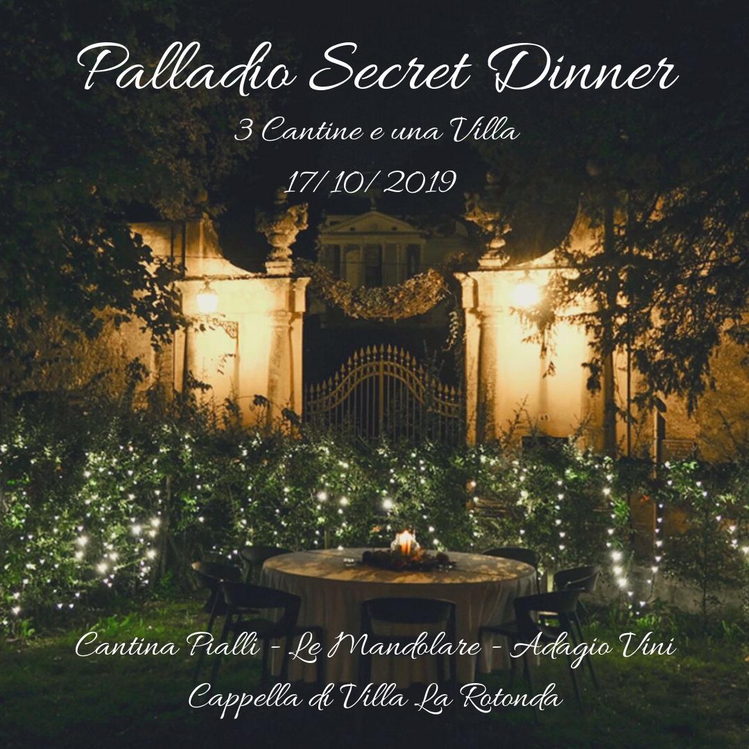 Copertina Palladio Secret Dinner
