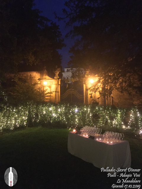 foto Evento Wine Embassy – Palladio Secret Dinner@Cappella Di Villa La Rotonda 17.10.2019 1