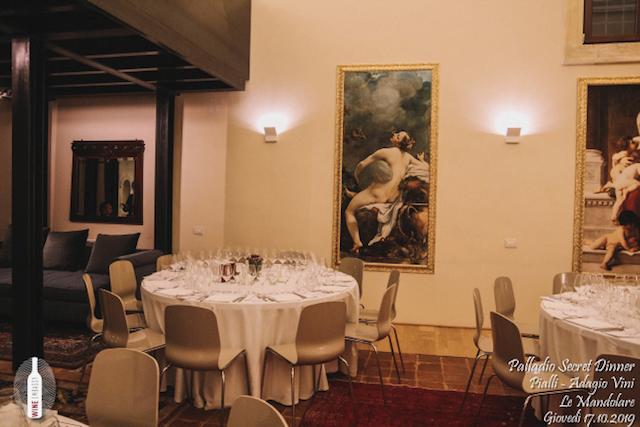foto Evento Wine Embassy – Palladio Secret Dinner@Cappella Di Villa La Rotonda 17.10.2019 12