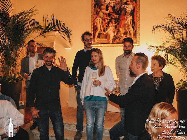 foto Evento Wine Embassy – Palladio Secret Dinner@Cappella Di Villa La Rotonda 17.10.2019 22