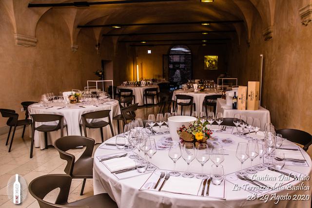 foto Evento Wine Embassy – Dal Maso @ Basilica Palladiana Vicenza – Agosto 2020 – 3
