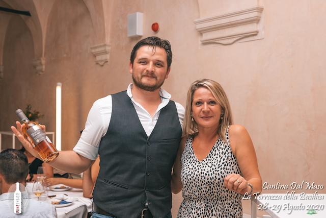 foto Evento Wine Embassy – Dal Maso @ Basilica Palladiana Vicenza – Agosto 2020 – 32
