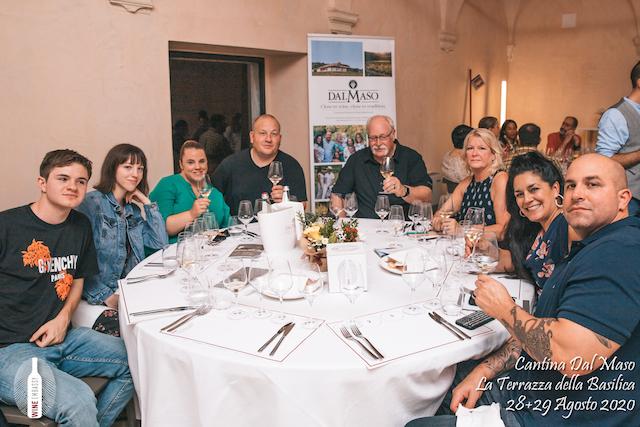foto Evento Wine Embassy – Dal Maso @ Basilica Palladiana Vicenza – Agosto 2020 – 37