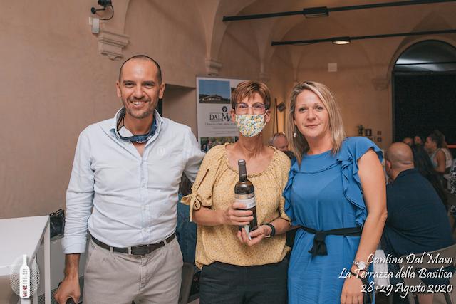 foto Evento Wine Embassy – Dal Maso @ Basilica Palladiana Vicenza – Agosto 2020 – 48