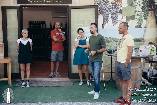 foto Evento Wine Embassy – Vendemmia @ Cantina Ongaresca 12 Settembre 2020 – – 7