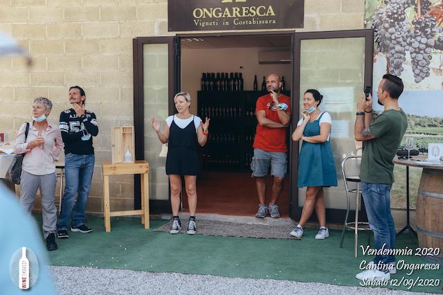 foto Evento Wine Embassy – Vendemmia @ Cantina Ongaresca 12 Settembre 2020 – – 8