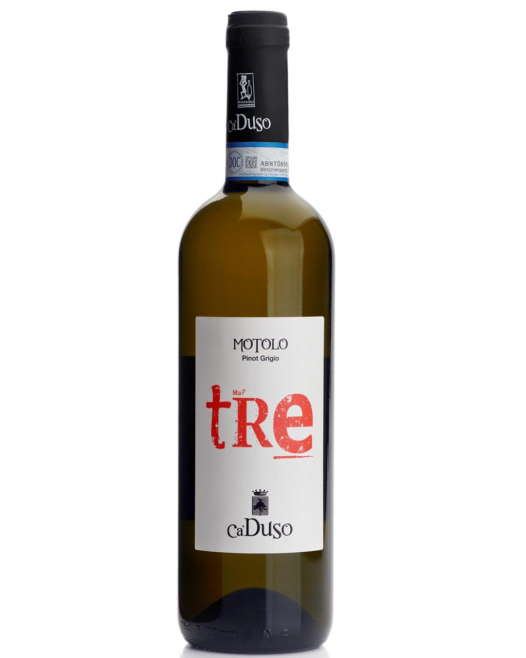 Schede Vini Evento Wine Embassy – Ca Duso – BOTTIGLIA PINOT GRIGIO